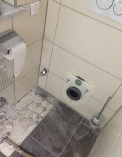 Wasserschaden im Bad