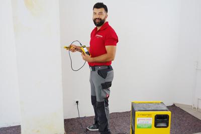 Feuchtigkeitsmessung Hohenloher Bau- und Schadenservice Adem Kilic
