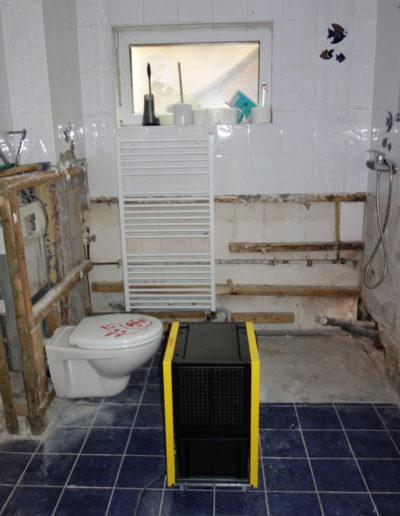 Trocknung Badräume